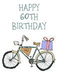 60th Birthday Bike