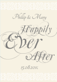 Happily Ever After Invite
